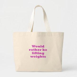 Estaría levantando bastante pesos bolsas