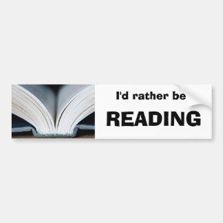 Estaría leyendo bastante a la pegatina para el par pegatina para auto