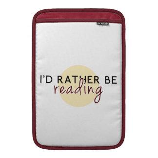 Estaría leyendo bastante - para los aficionados a funda para macbook air