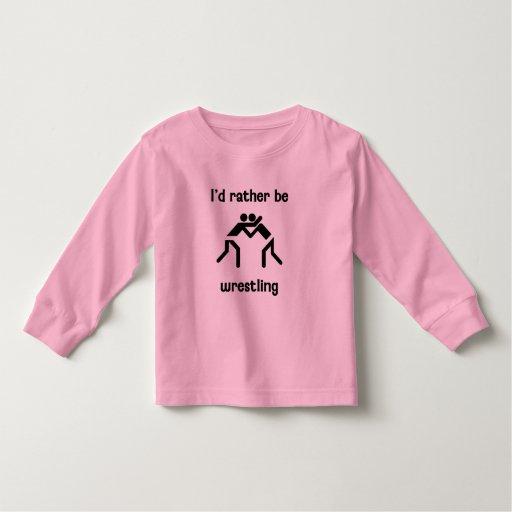 Estaría luchando bastante camisas