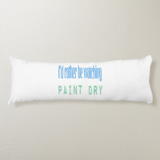 Estaría mirando bastante la pintura seca almohada