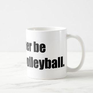 Estaría mirando bastante voleibol taza clásica