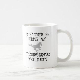 Estaría montando bastante a mi caminante de taza clásica
