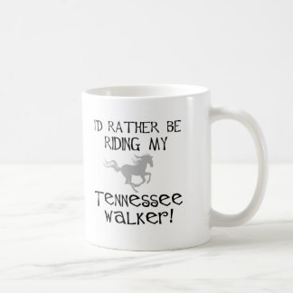 Estaría montando bastante a mi caminante de Tennes Tazas De Café