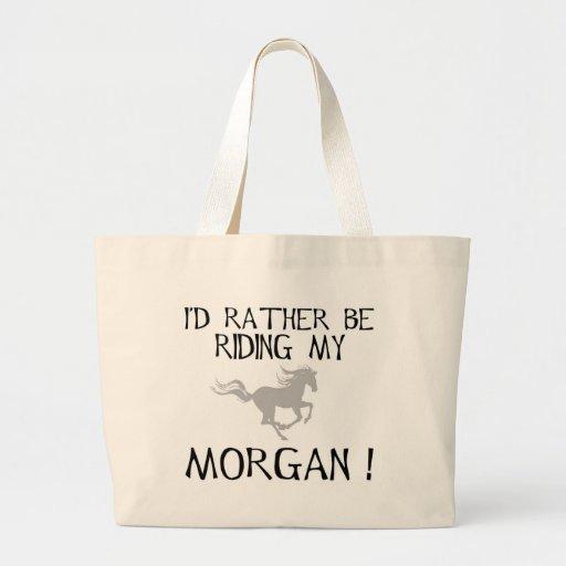 Estaría montando bastante mi Morgan Bolsa Tela Grande