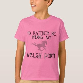 Estaría montando bastante mi potro galés playera