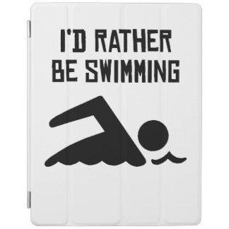 Estaría nadando bastante cover de iPad