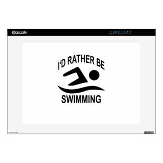 Estaría nadando bastante el .png de las camisetas portátil calcomanías