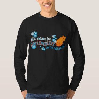 Estaría nadando bastante en camiseta de la remeras
