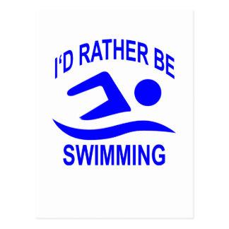 Estaría nadando bastante T-shirts.png Postales