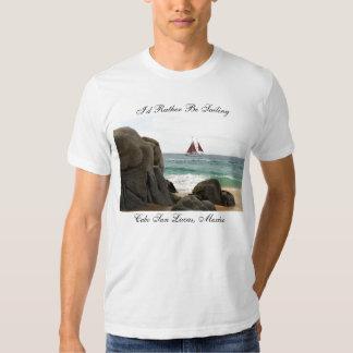 Estaría navegando bastante la camiseta camisas