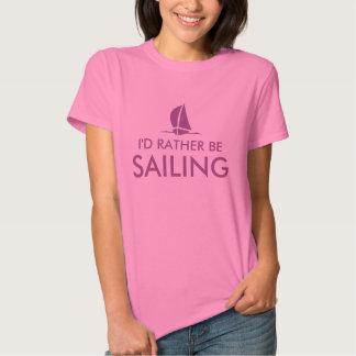 Estaría navegando bastante la camiseta para el playeras