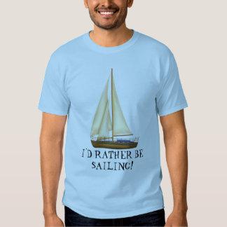Estaría navegando bastante la camiseta para hombre camisas