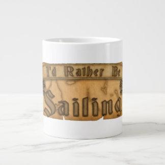 Estaría navegando bastante taza de café grande