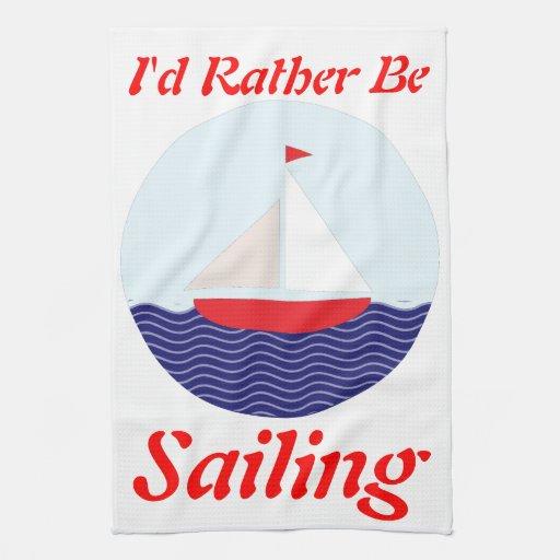 Estaría navegando bastante toalla de mano