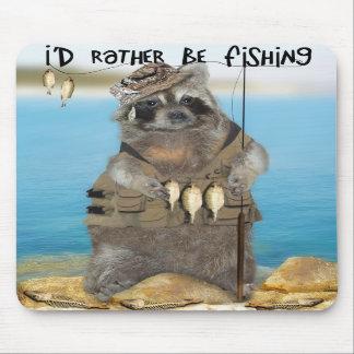 Estaría pescando bastante alfombrillas de raton