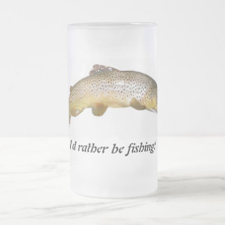 Estaría pescando bastante el muh de la cerveza taza cristal mate