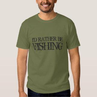 Estaría pescando bastante la camiseta para los playeras