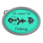 Estaría pescando bastante la hebilla hebillas cinturón ovales