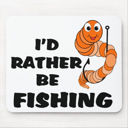 Estaría pescando bastante mouse pads