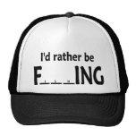 Estaría pescando bastante - pesca divertida gorra