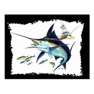 ¡Estaría pescando bastante! Postales