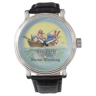 Estaría pescando bastante relojes de mano
