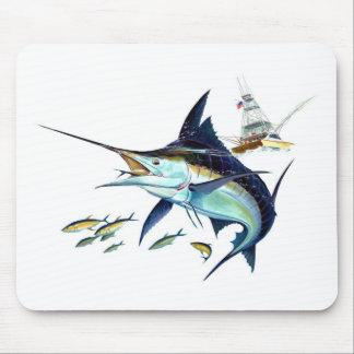 ¡Estaría pescando bastante! Tapetes De Ratón