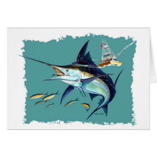 ¡Estaría pescando bastante! Tarjeta