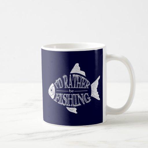 Estaría pescando bastante taza clásica
