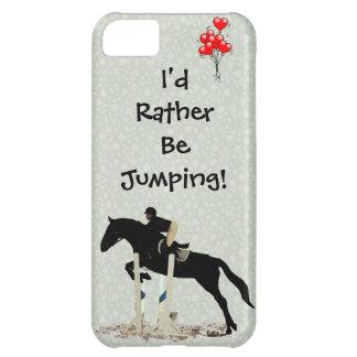 ¡Estaría saltando bastante! Caballo Funda Para iPhone 5C