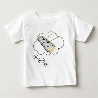 estaría tocando bastante el xilófono 2 t shirts