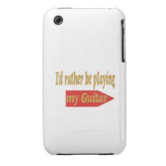 Estaría tocando bastante mi guitarra funda para iPhone 3 de Case-Mate