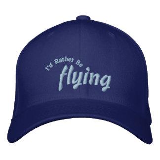 Estaría volando bastante el gorra experimental gorras de beisbol bordadas