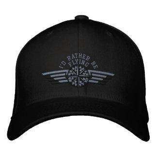 Estaría volando bastante las alas del piloto del gorras bordadas