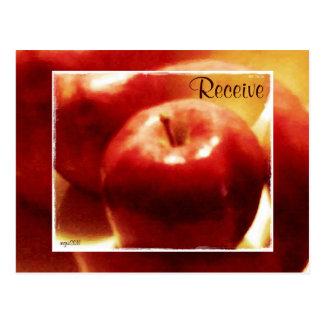Estas manzanas de noviembre de las estaciones de l postales