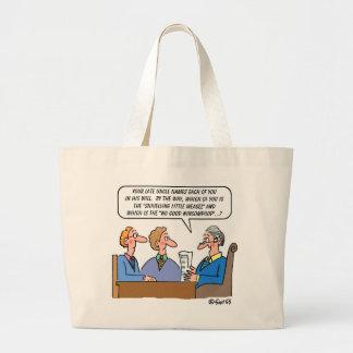 Estate Lawyer or Probate Judge Funny Large Tote Bag