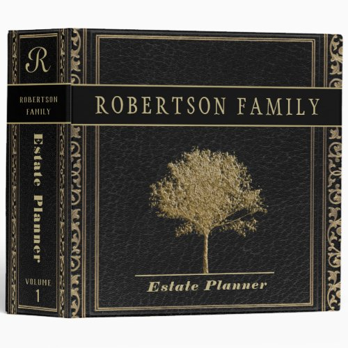 Estate Planning and Trust Documents 3 Ring Binder