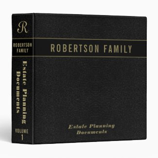 Family Records / Trust Documents Holder