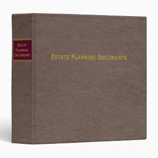 Estate Planning Documents binder