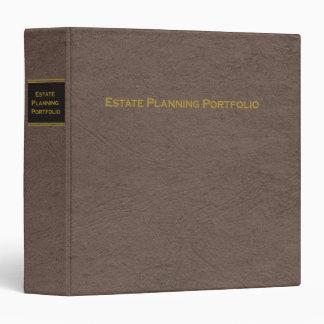 Estate Planning Portfolio binder