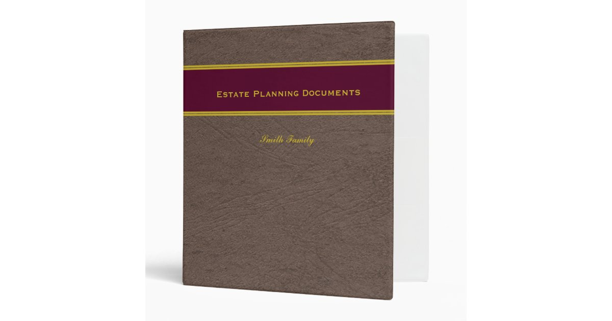 estate planning with custom name 1