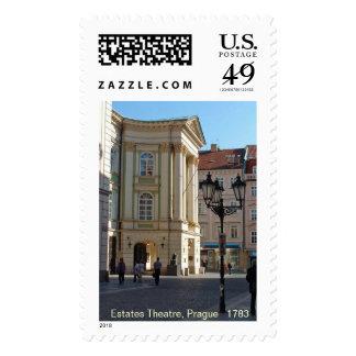 Estates Theatre, Prague Postage