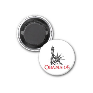 Estatua 2008 de Barack Obama del imán de la libert