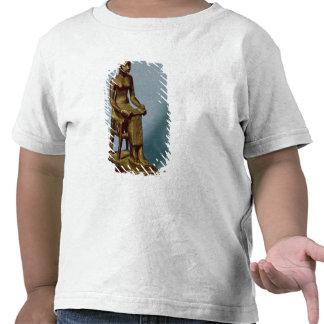 Estatua asentada de Imhotep que sostiene un Camisetas