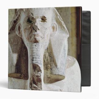 "Estatua asentada de rey Djoser Carpeta 1 1/2"""
