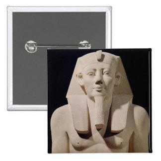 Estatua asentada Sesostris I, originalmente mortuo Pin Cuadrada 5 Cm