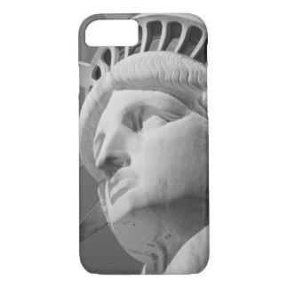 Estatua blanca negra del caso del iPhone 7 de la Funda iPhone 7