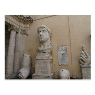 Estatua colosal de Constantina Postales