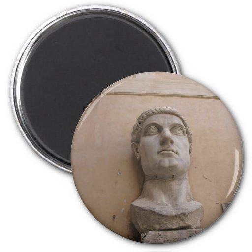 Estatua colosal de Constantina, Roma, CE. 315-220 Iman De Nevera